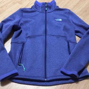 North Face Women's full zip up hoodie size medium